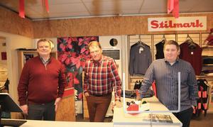 Torbjörn Lundh, Malte Lundh och Henrik Sihvonen.
