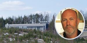 Lars Schedin är vd för Ecodatacenter. Foto: Kenneth Westerlund/Clara Fritzon