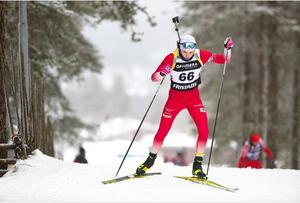 Älvdalens Oscar Andersson vann båda dagarna i premiärhelgen i Idre.  Foto: Per Danielsson/Skidskytteförbundet