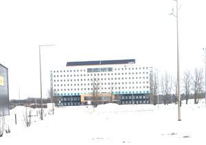 Det nybyggda Arenahotellet ligger i samma område.