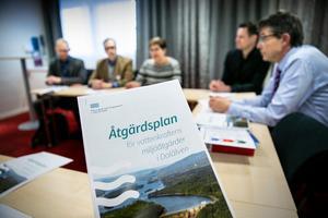 Åtgärdsplanen innehåller 45 punkter som ska förbättra förutsättningarna för främst vandrande fisk i Dalälven med biflöden.
