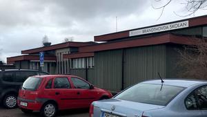 Brandthovdaskolan efter det misstänkta kidnappningsförsöket på torsdagen.