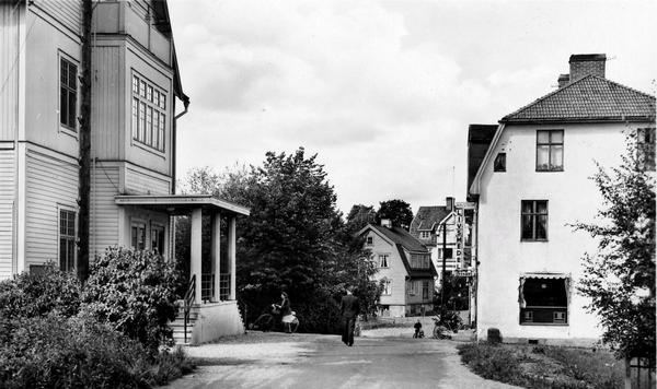 Sveasalongen i Västanfors på 1940-talet.