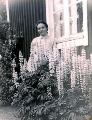 Berta Tjärnberg fick aldrig några minnesord tillägnade sig när hon dog för 40 år sedan. Men nu får hon det. Foto: Privat