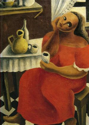 Brita Nordencreutz hade ett mer modernistiskt bildspråk än den äldre Elsa Celsing, men var väldigt populär.