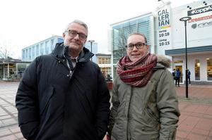 Anders Lidén och Lisa Selin på Tidningen Ångermanland i Kramfors.