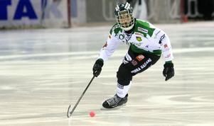 Frillesås Mattias Johansson stod för ett mål och ett assist i matchen.