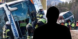 Under onsdagen hördes busschauffören om olyckan vid Siksjön.