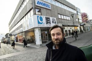 Fredrik Nordin är fastighetsutvecklare på företaget Byggsigurd.