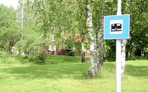 Den nya husvagnsparkeringen ligger bakom Lindholmstorpet.