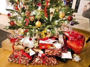 Det där med julklappars innehåll kan variera en hel del beroende på mottagarens ålder. Foto: TT