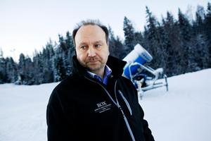 Peter Granåsen, ordförande hos Timrå Snöskoterklubb. FOTO: Tina Skiöld
