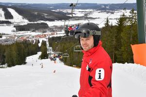 Viktor Funke på Romme Alpin, som nu passerat Idre Fjäll som Sveriges största skidanläggning vad gäller omsättning efter Skistars fjällanläggningar.