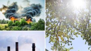 Klimatet förändras och jorden hotas.