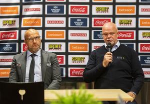 Roger Melin var missnöjd med utvisningen på Marek Hrivik.