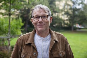 Svante Parsjö Tegnér (L), ordförande i kultur- och fritidsnämnden i Falun.