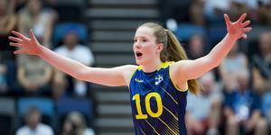 Isabelle Haak. Foto: Europeiska Volleybollförbundet