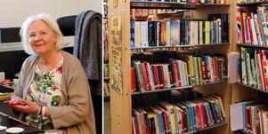 Hallsta skola har fått tillbaka sitt bibliotek. Nu vill rektor Inger Langetz fortsätta utveckla verksamheten.