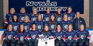 Nynäshamns IF:s damlag har börjat spela seriespel och vann sin första seriespelsmatch mot IFK Salem Ladies. Foto: Esbjörn Ljunggren