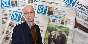 Förtroendet för lokaltidningarna är högre än för rikspressen. Det glädjer krönikör Brånfelt.