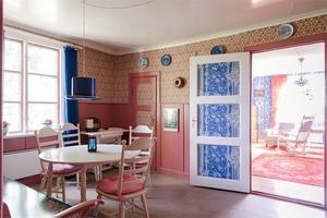 Ett riktigt Pippi Långstrump-kök, eller hur? Foto: Utsikten Foto