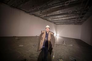 Nationalmuseum Jamtlis konsthall vars golv ska hålla för riktigt tunga föremål.