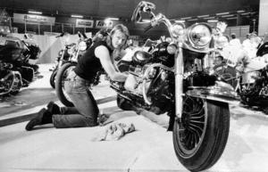 1986 var det dags för Bil- och mc-mässa igen. Janne Andersson, från