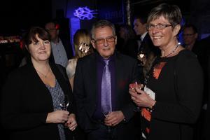 Ann-Charlotte Alm, Uno Karlsson och Ulla Karlsson.