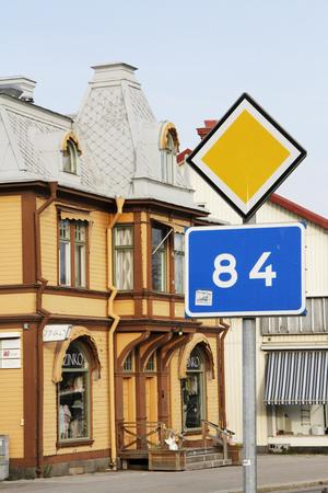 Riksväg 84, som i nuläget går genom Ljusdals köping, ska framledes gå via Kyrksjönäsvägen.