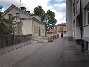 Huset på Hökenbergs gränd, sett söderifrån.