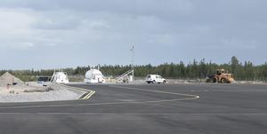 Flygplatsen har fått en ny tankanläggning.