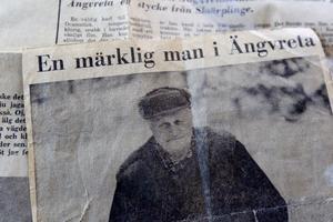 I ett tidningsklipp från Gefle Dagblad den 11 januari 1971 kunde man läsa om Helmer Johansson i ett reportage skrivet av Göran Norström och fotat av Anders Attermark.