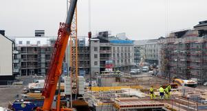 Det har byggts många nya bostäder som har gett möjlighet till fler invånare i Örebro de senaste åren.