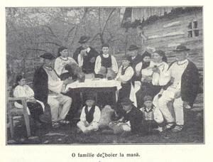 En familj i Ciorans barndomsstad Rășinari 1915. Foto: Mihai Andrei