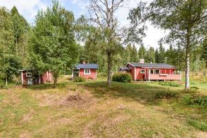 Ett fritidshus i Berggården, Falu kommun, fick 4 923 klick på Hemnet under förra veckan, vilket gav en åttondeplats på Dalarnas Klicktoppen. Foto: Patrik Persson