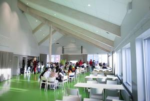 Matsalen är ingen modul, den är arkitektritad.