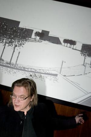 2007 fanns ett färdigt förslag. Arkitekten bakom var Vesa Honkonen.