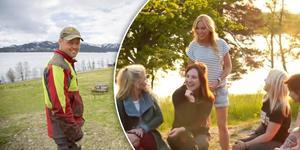 Jimmy Olofsson från Ankarvattnet, till vänster. Bilden är ett montage. Foto: Fredrik Eliasso och TV4.