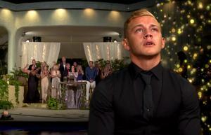 Jesper Bengtsson blev chockad över att snubbla på mållinjen. Foto: TV3