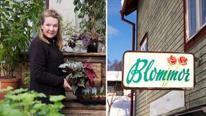 Karin Wickman har bott i huset och drivit butiken i snart 13 år. Nu väntar nya utmaningar.