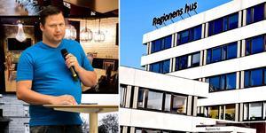 Martin Klausen (SD) politisk sekreterare för sitt parti i Region Västernorrland tvingas kliva av sin tjänst.