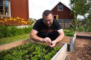 Andreas Libell odlingsintresse kommer från barnsben.