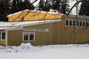 Njutångers skola är en av skolorna som är med i utredningen, där eleverna föreslås flytta till Iggesunds skola.