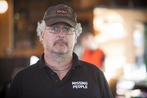 Jonas Norman, operativ chef Missing People.