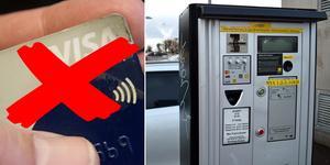 Parkeringsappen ersätter kortbetalningen.