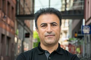 Abbas Kakekhani, 40 år, bokförare, Sundsvall: