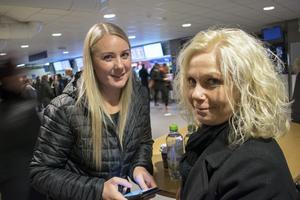 Carolina Bill och Pia Nilsson från Leksand.