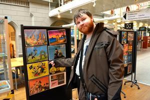 Samuel Granhammars utställning visas under hela februari.