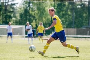 André Rydén och Lillhärdal hade en tuff match på Movallen i Iggesund.