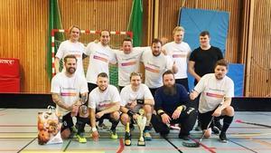 Foto: Simon HanssonDormsjöskolan bakom Mattias Agers 27 mål vann finalen över Österling Bygg.